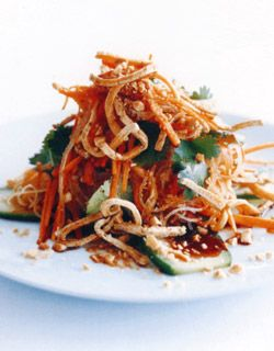 Noodle Salad with Crisp Tofu