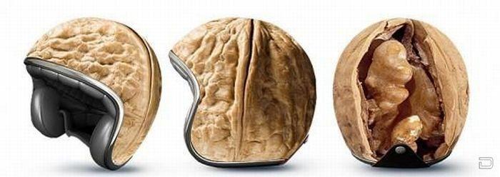 Прикольные мотоциклетные шлемы (7 фото)