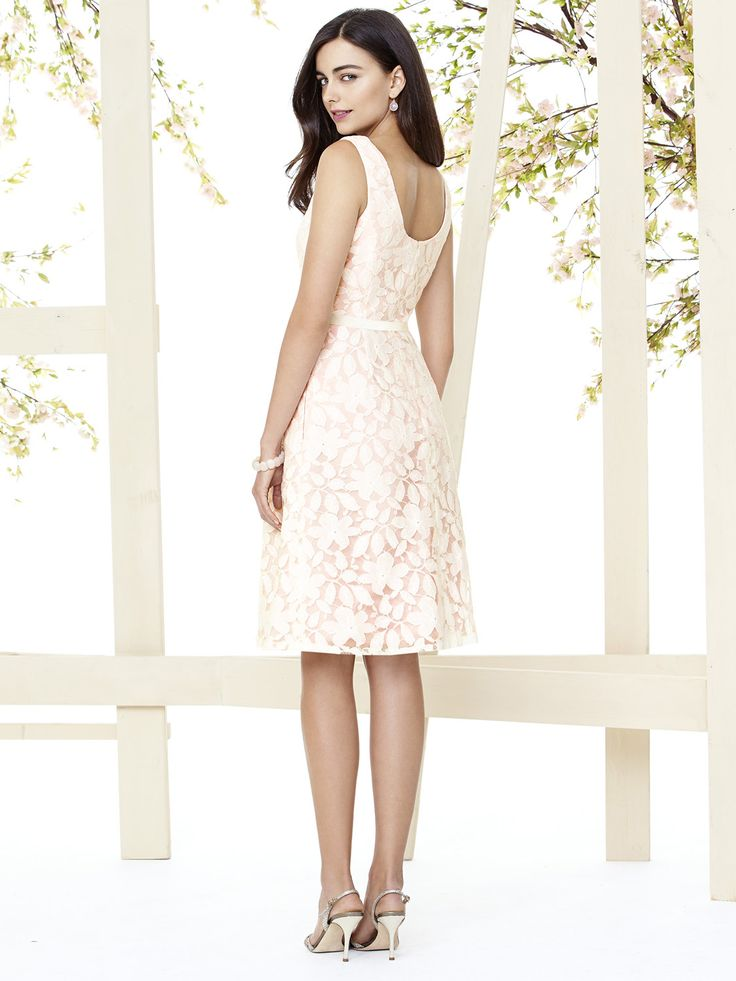 Betty cocktail dress #new #lace #ivory #bridesmaid