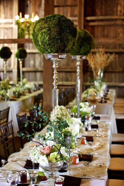 Michelle and christian centerpieces i was wrong events