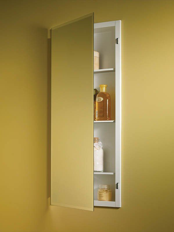 Horizon 16 X 36 Recessed Medicine Cabinet Recessed Medicine Cabinet Adjustable Shelving Glass Shelves Decor