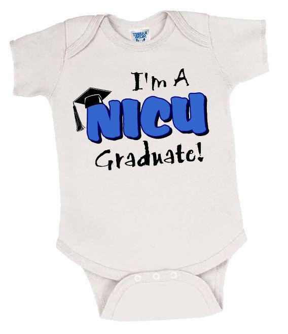 NICU Graduate Preemie Onesie for Boys, Preemie Boy Bodysuit, Preemie Boy Onesie, Preemie Boy Clothes, Preemie Boy Clothing, Preemie Boy Gift by EarlyArrivalBoutique on Etsy