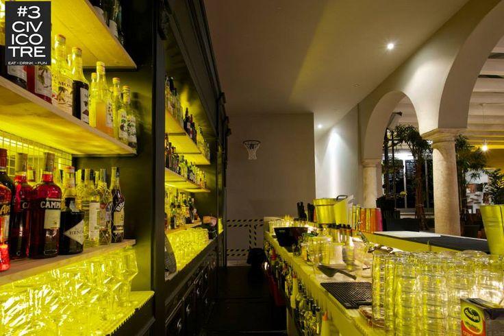 CIVICO #3 - Restaurant - Bar - Club. Mantua (Italy)
