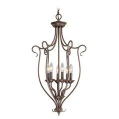 Livex Lighting Coronado Imperial Bronze Pendant Light