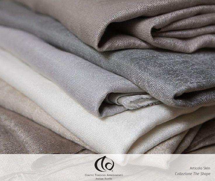 SKIN // Un elegante tessuto jacquard, realizzato in 55% lino e 45% poliestere, morbido al tatto, caratterizzato da un intreccio di trama e ordito che magistralmente anima la superficie. #Collezione #TheShape #Tessuto #Skin  #tessuti #interiordesign #tendaggi #textile #textiles #fabric #homedecor #homedesign #hometextile #decoration #ctasrl Visita il nostro sito www.ctasrl.com e scarica le nostre brochure su:http://bit.ly/1nhrLQM