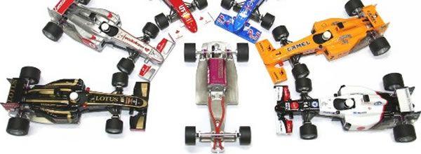 Sloting Plus: Un châssis en acier pour les Formule 1 All Slot Car