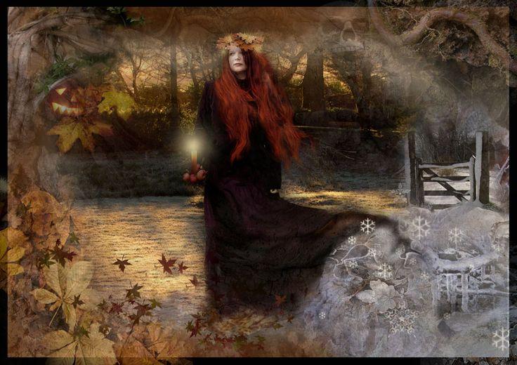 """El significado de Samhain es """"Fin del Verano"""" y se celebra el 31 de octubre en el hemisferio norte y el 1 de mayo en el hemisferio sur. Es un momento donde las leyes del tiempo…"""