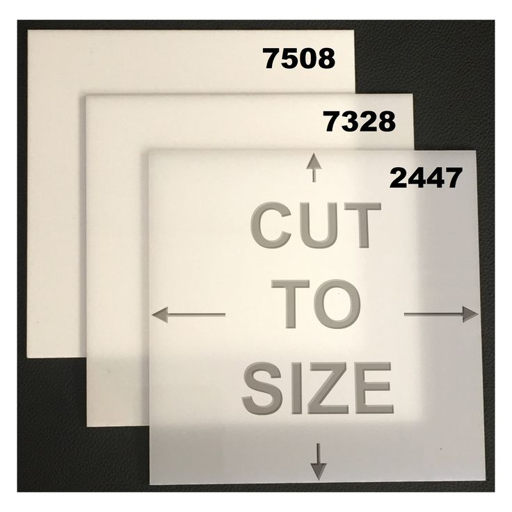 Check out the deal on Cut-to-Size White Acrylic Sheet - Cast at ACME Plastics, Inc.