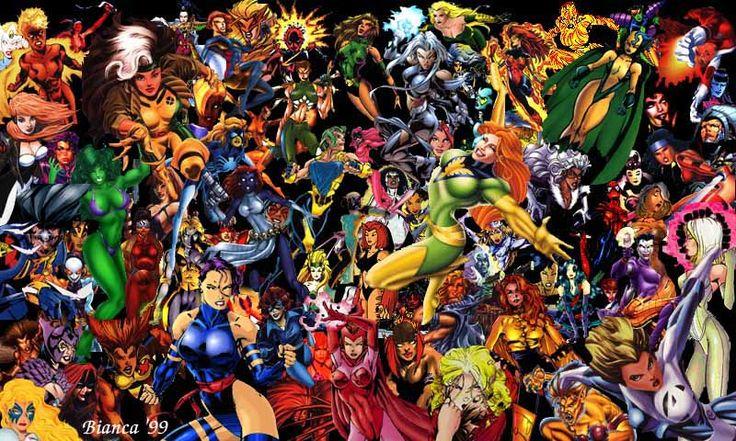 Marvel Superheroes And Villains
