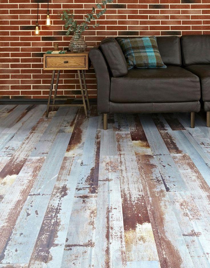 Reclaimed Ash Blue Laminate Flooring Topps Tiles