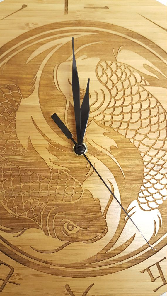 Unique, rustic and refined wall clock, perfect for any home. Supplied with a high specification quartz clock movement. One of a kind item. 29.5cm diameter. Manufactured in the UK by Derwent Laser Crafts Ltd.