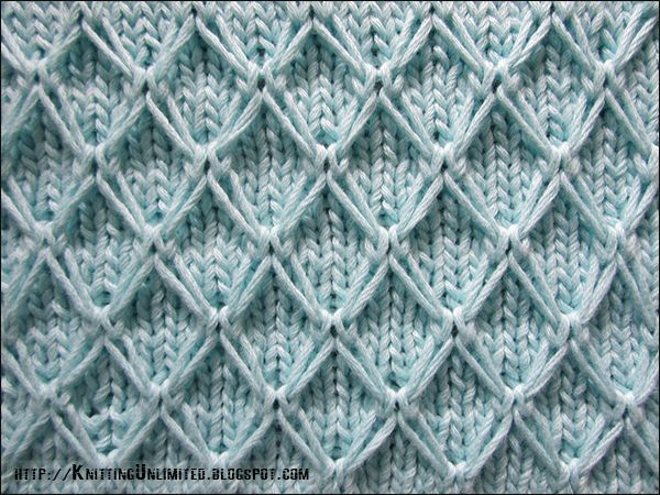 English Diamond Quilting Stitch Pattern