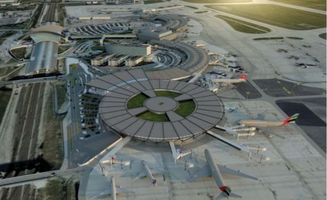 FRANCE GROUND BREAKING FOR LYON-SAINT EXUPÉRY AIRPORT TERMINAL 1 BY RSHP