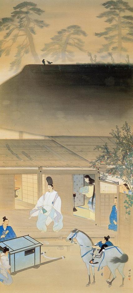 MATSUOKA Eikyu (1881-1938), Japan 松岡 映丘