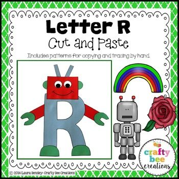Letter R (Robot) Cut and PasteThis is a Letter R (Robot) alphabet craft.  It…