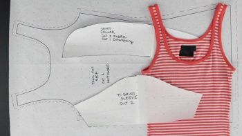 How to Create Patterns from Existing Clothing - Simple Tops by Professor Pincushion | Technique | Sewing / Pattern Drafting | Kollabora