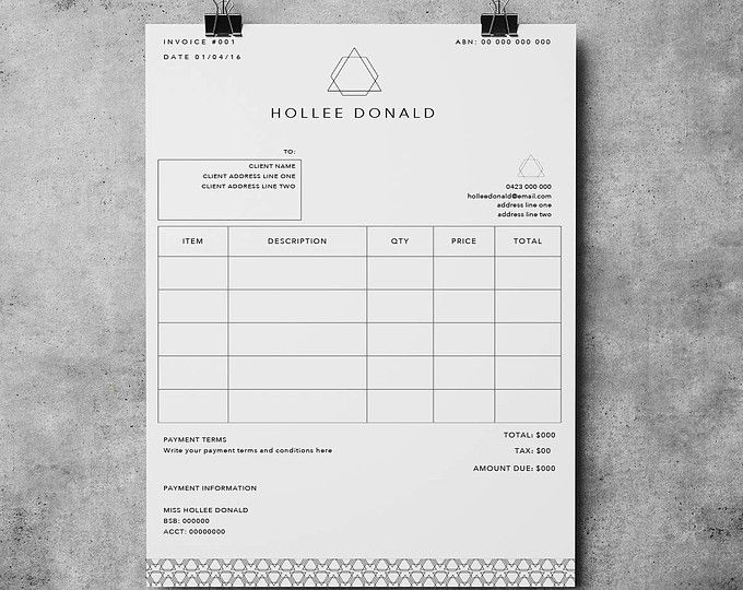 The Nelson Invoice Template Receipt Ms Word Receipt Template Invoice Download Invoice Template Invoice Design Microsoft Word 2007