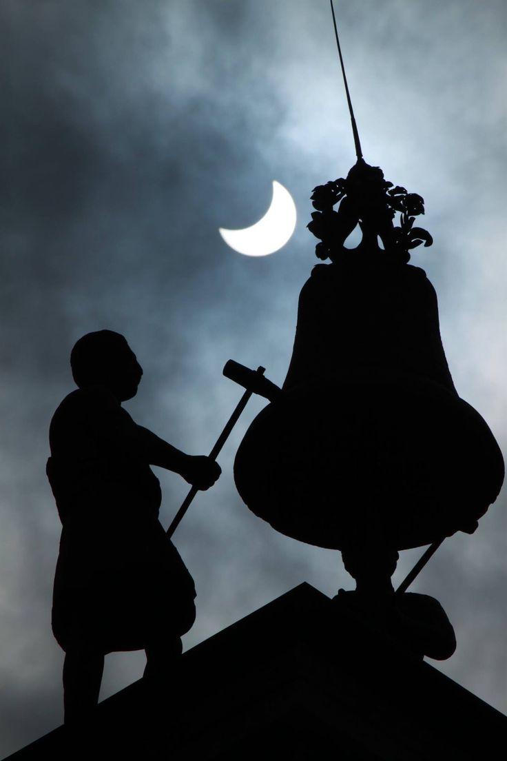 Eclissi a Brescia