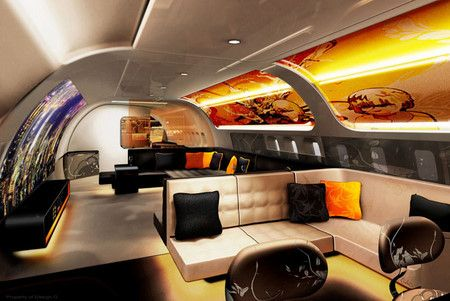 17 best images about aircraft interior design on pinterest for Airplane exterior design