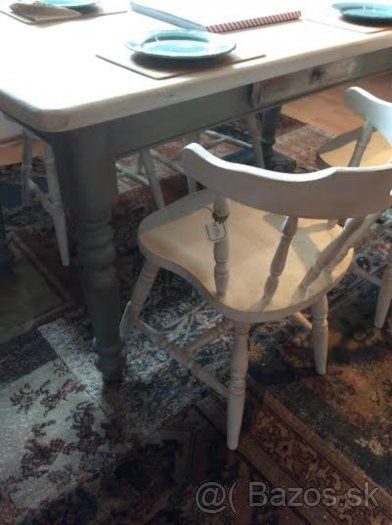 Vintage Jedálenský stolový set
