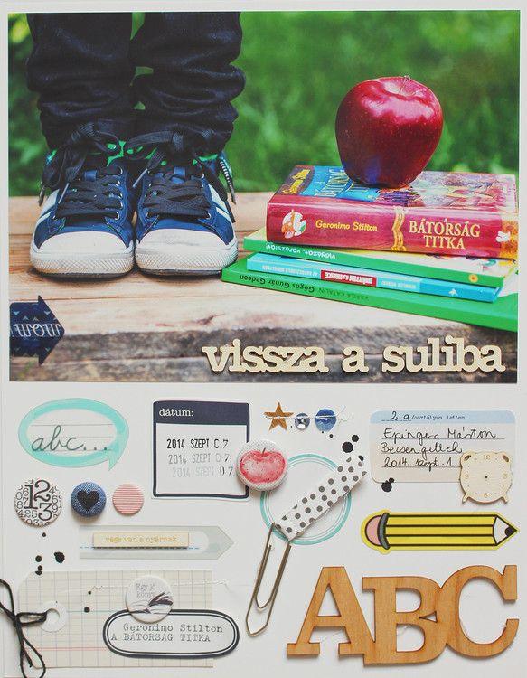 Vissza a suliba (Back to school) by izzie at @studio_calico