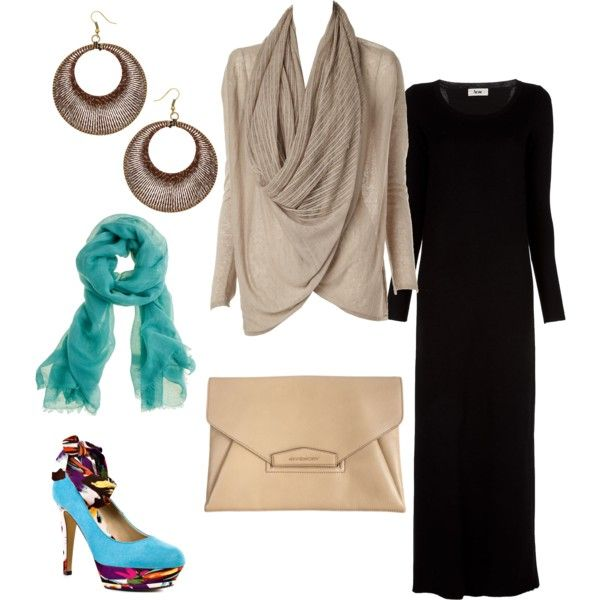 """""""funky hijab 2"""" by strawberrymuslimah on Polyvore"""