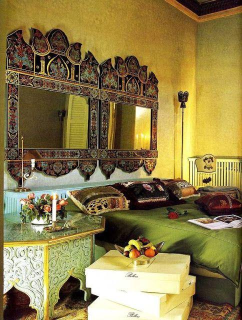 decoracao de interiores estilo marroquino : decoracao de interiores estilo marroquino: Quartos, Quartos De Estilo Indiano e Quarto Inspirado Em Tema Indiano