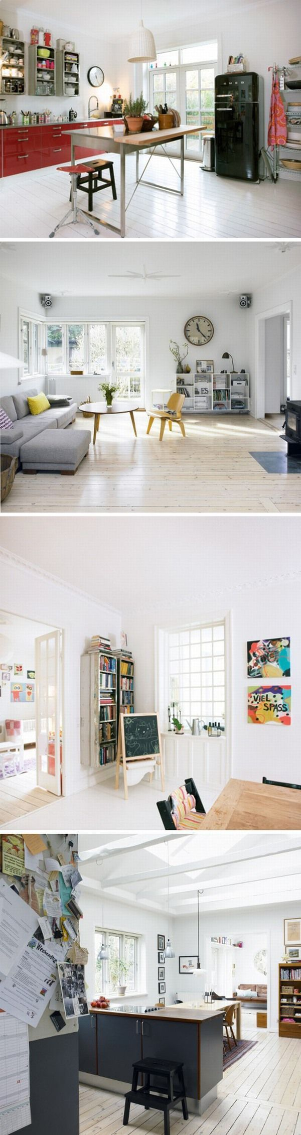 I look at these white walls and they look so pretty...why can't I like my white walls???