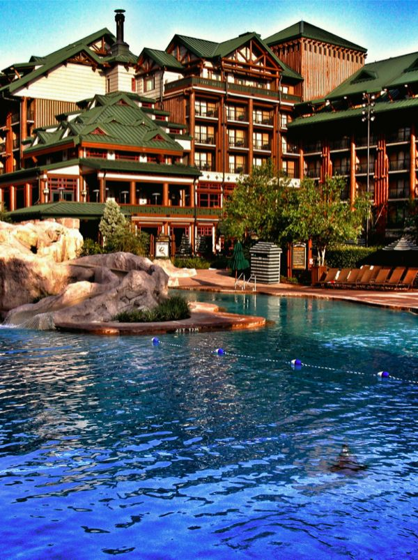 Disney's Wilderness Lodge Resort..we have stayed there so many times..remember kids!?