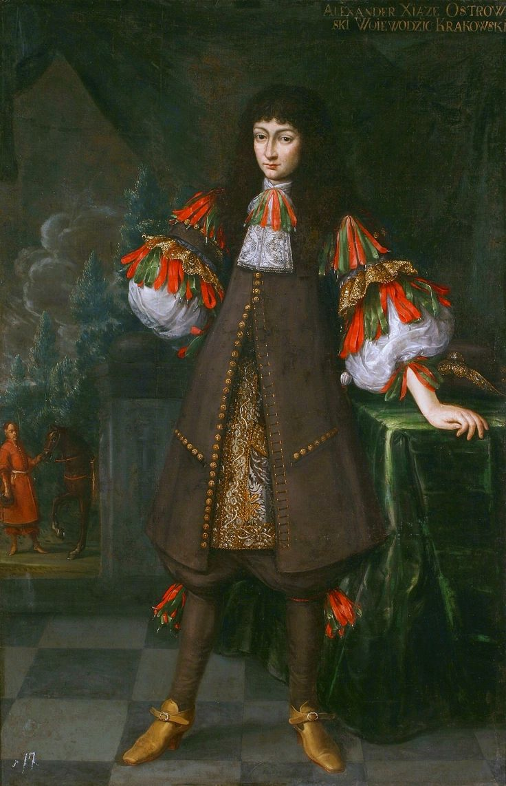 Portrait of Aleksander Zasławski-Ostrogski (1650-1682) by Andreas Stech, ca. 1670 (PD-art/old), National Arts Museum of the Republic of Belarus