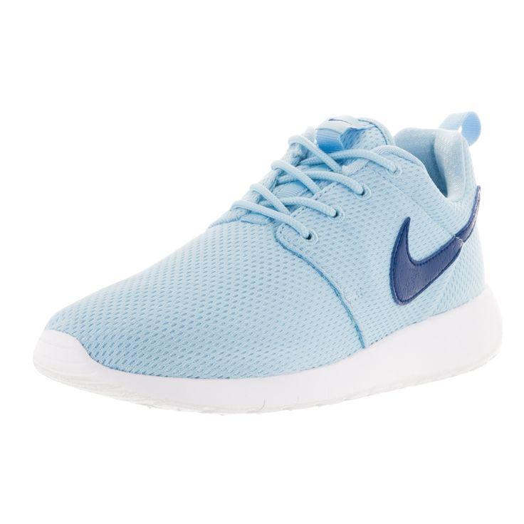 Nike Kid's Roshe One GS Deep Royal /White Running Shoes