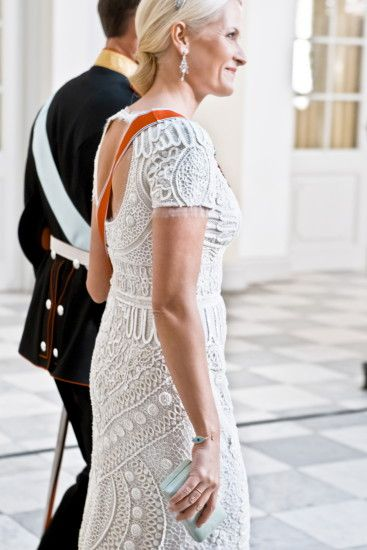 Crown Princess Mette-Marit in Emilio Pucci by Peter Dundas