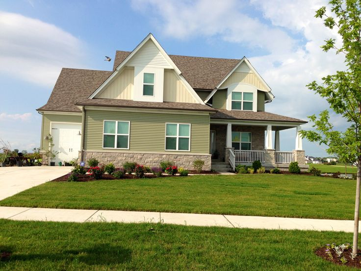 Model homes in plainfield