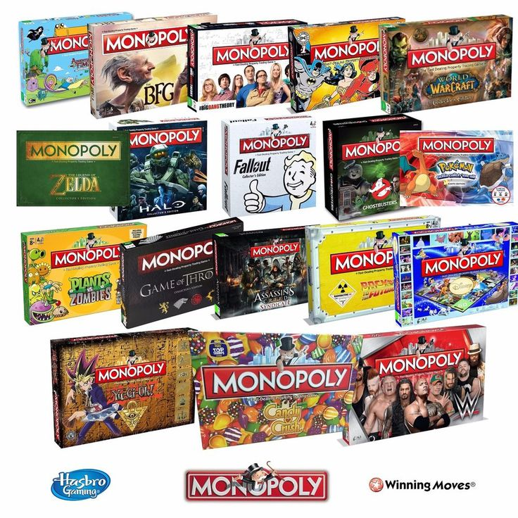 Details about Monopoly Board Game Special Editions 2019