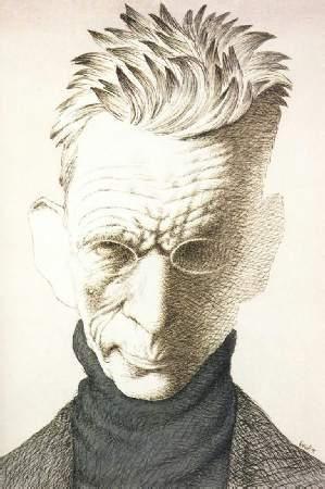 Tullio Pericoli - Samuel Beckett Portrait