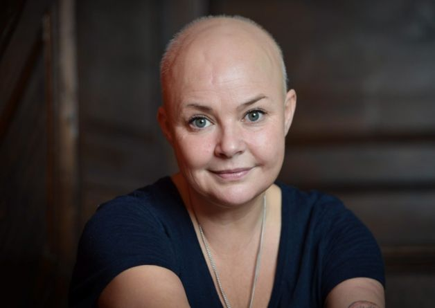 Gail Porter is putting her hair regrowth down to a #rawfood #detoxdiet involving uncooked cabbage and vegetables.