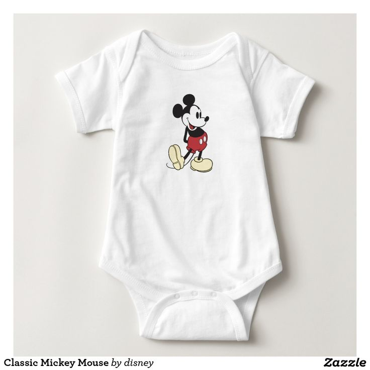 Classic Mickey Mouse Baby Bodysuit