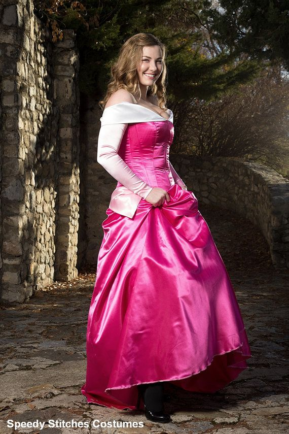 Sleeping  Beauty Adult Costume  - Adjustable and Washable on Etsy, $275.00 I really want this