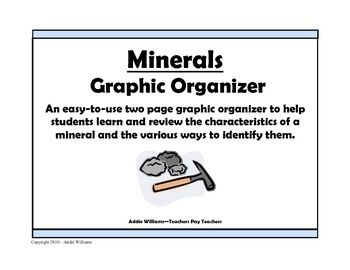 77 best science earth environmental science including weather weekly freebie free science resource free from addie williams on tpt minerals free graphic fandeluxe Image collections