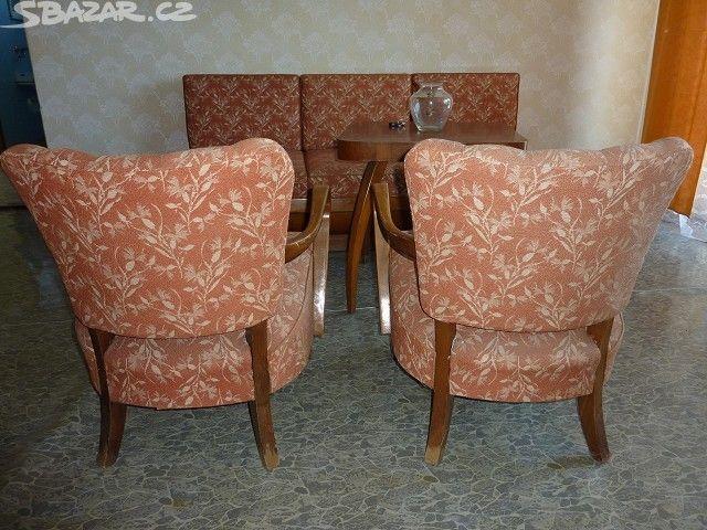 Prodám starožitný nábytek Halabala - obrázek číslo 6