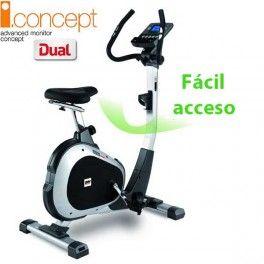 Bicicleta estática para ejercicio doméstico regular BH i.Concept ARTIC Dual Kit opcional H674U