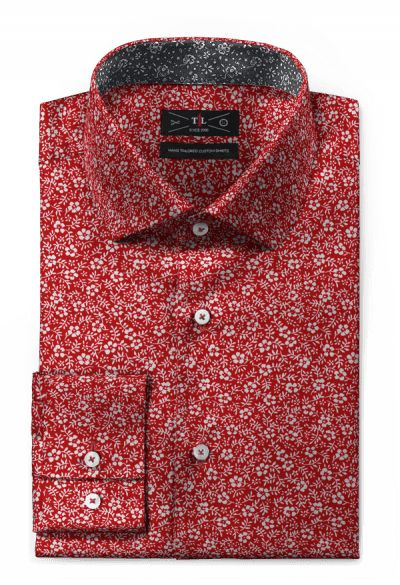 Red floral 100% cotton Shirt: http://www.tailor4less.com/en-us/men/shirts/3119-red-floral-100-cotton-shirt