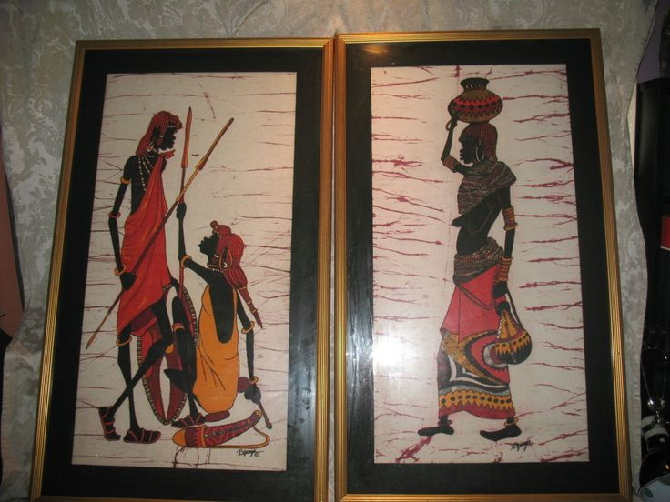 African Ethnic Art Paintings