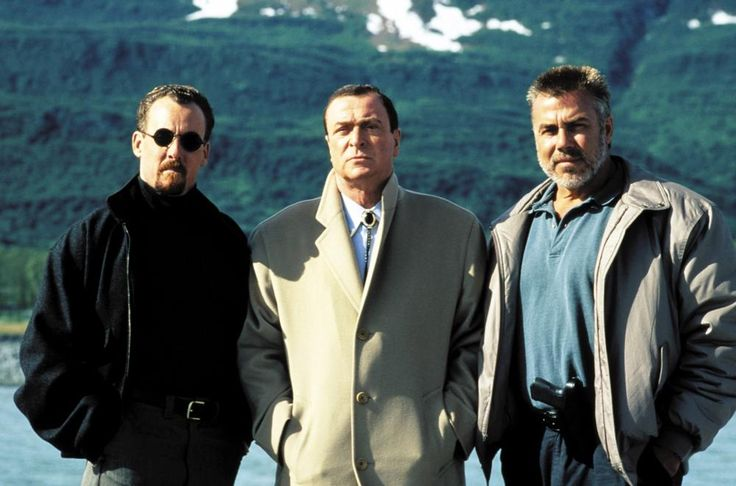John C. McGinley, Michael Caine, Sven ole Thorsen for the villains.