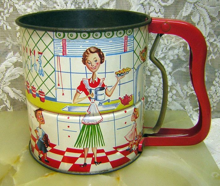 1950's Androck Flour Sifter