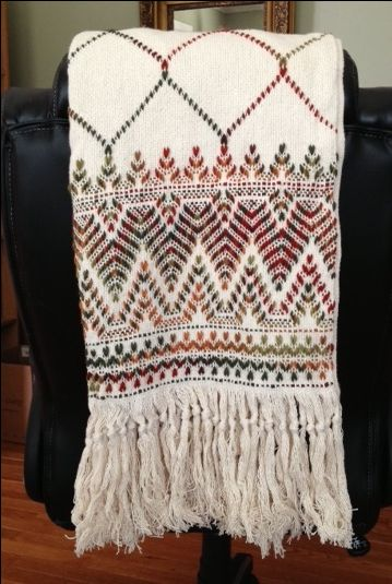Monk's Cloth Afghan