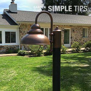 light the way diy lamp post redo