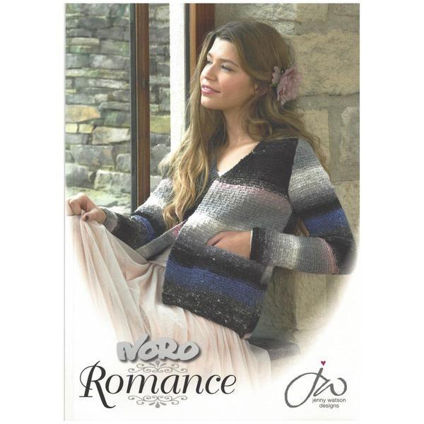 NORO ROMANCE - 12 knitting designs - by Jenny Watson – TUPPY'S AUSSIE FABRICS