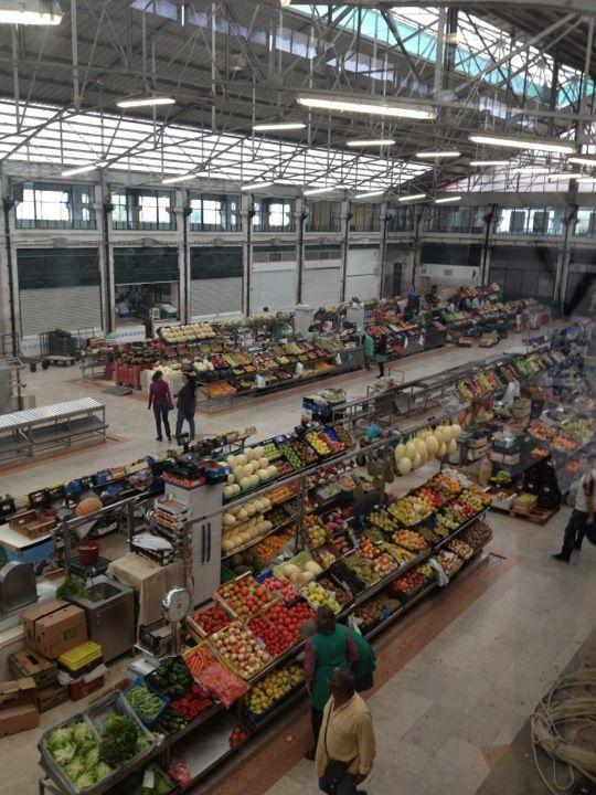 Mercado da Ribeira in Lisboa