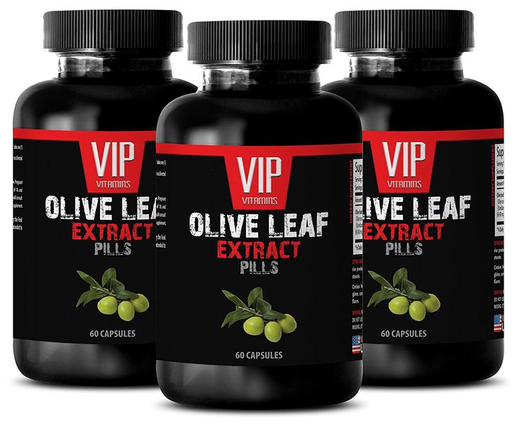Anti yeast supplement - OLIVE LEAF EXTRACT - Anti bacterial - 3 Bottles 180 Capsules * Hurry! Check out this great product : Weight loss Diuretics